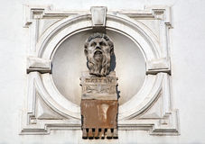 Platon, sculpture at Zagreb's Upper Town Royalty Free Stock Images
