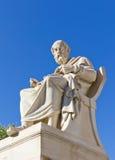 Platone, accademia di Atene, Grecia fotografia stock libera da diritti