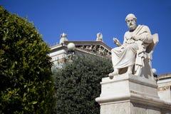 Platone il filosofo immagini stock libere da diritti