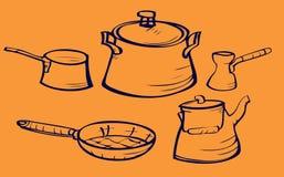 Platos Imágenes de archivo libres de regalías
