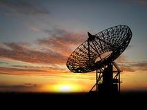 Platos basados en los satélites Fotografía de archivo libre de regalías