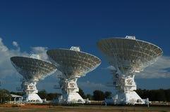 Platos de la antena de radio Fotos de archivo
