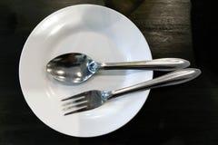 Platos de la cuchara Fotografía de archivo libre de regalías