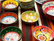 Platos decorativos fotografía de archivo libre de regalías