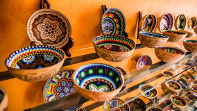 Platos Huichol Fotos de Stock Royalty Free