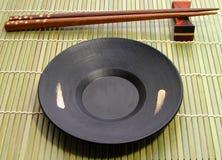 Platos japoneses Fotografía de archivo