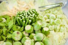 Platos vegetales. Imagen de archivo libre de regalías