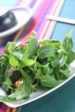 Platos vegetales Fotografía de archivo libre de regalías
