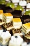 Platou da mistura com doces Foto de Stock