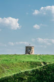 Plats av den forntida bosättningen arkivbilder