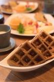 Plats av frukosten Royaltyfria Bilder