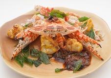 Plats cuisine de la Thaïlande et de la Chine d'international Photos libres de droits