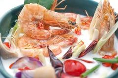 Plats cuisine de la Thaïlande et de la Chine d'international Image libre de droits