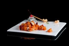 Plats d'escargot Image stock