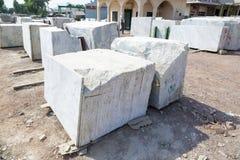 Plats de marbre à vendre Photo stock