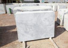 Plats de marbre à vendre Photographie stock libre de droits