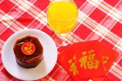 Plats de special de Nian Gao Chinese New Year images libres de droits