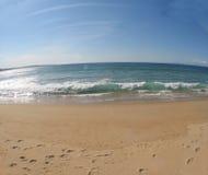 plats för 6 strand Arkivfoton