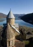 plats för berg för ananurislott georgian Royaltyfria Bilder