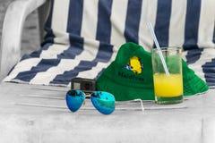 Plats för sommarferie Fotografering för Bildbyråer