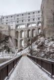 Slott av Cesky Krumlov Arkivfoto
