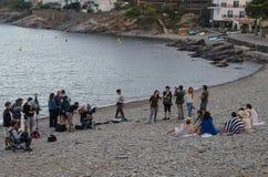 Plats från den Ventura Pons filmen, fröcken Dali royaltyfri fotografi