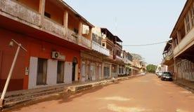 Plats från Guinea-Bissau Arkivbild