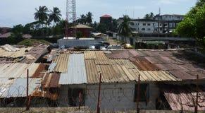 Plats från Liberia Arkivbild