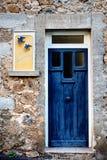 Plats från St Nectaire, Auvergne, Frankrike Fotografering för Bildbyråer
