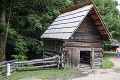 Plats från stora Smokey Mountains royaltyfria foton