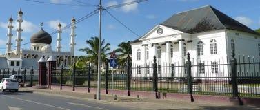 Plats från Surinam, Sydamerika Arkivbilder