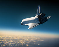 Plats för rymdfärja Landing Arkivbild