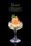 Plats gastronomiques Images stock