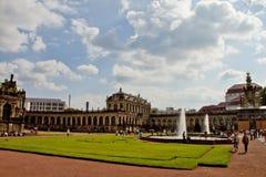 Plats i Dresden, Tyskland Arkivbild