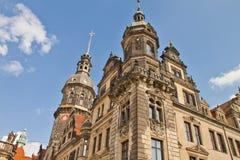 Plats i Dresden, Tyskland Royaltyfria Foton
