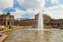 Plats i Dresden, Tyskland Fotografering för Bildbyråer