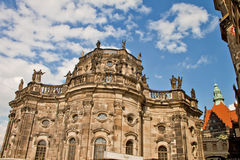Plats i Dresden, Tyskland Royaltyfri Fotografi