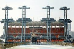 Plats i Guangzhou med ship-garneringen fotografering för bildbyråer