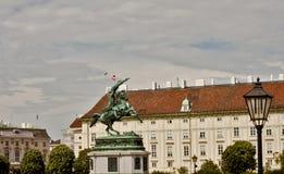 Plats i Wien, Österrike Royaltyfria Bilder