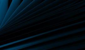 Plats industriels bleus abstraits Photographie stock libre de droits