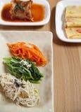 Plats latéraux légumes Photo libre de droits