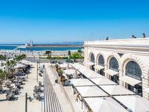 Plats nära Marseille port Royaltyfri Bild