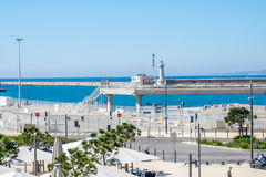 Plats nära Marseille port Royaltyfria Foton