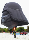 Plats på händelsen för ballong för varm luft Royaltyfria Foton