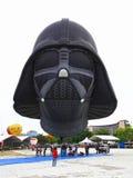 Plats på händelsen för ballong för varm luft Arkivfoto