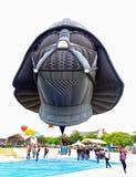 Plats på händelsen för ballong för varm luft Arkivfoton