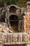 Plats på Myra Turkiet Arkivfoto