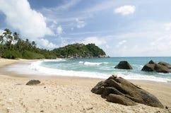 plats thailand för pha för strandko ngan Royaltyfria Bilder