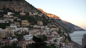 Platser av Positano (4 av 8) stock video