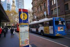 Platser av Sydney City Royaltyfri Fotografi